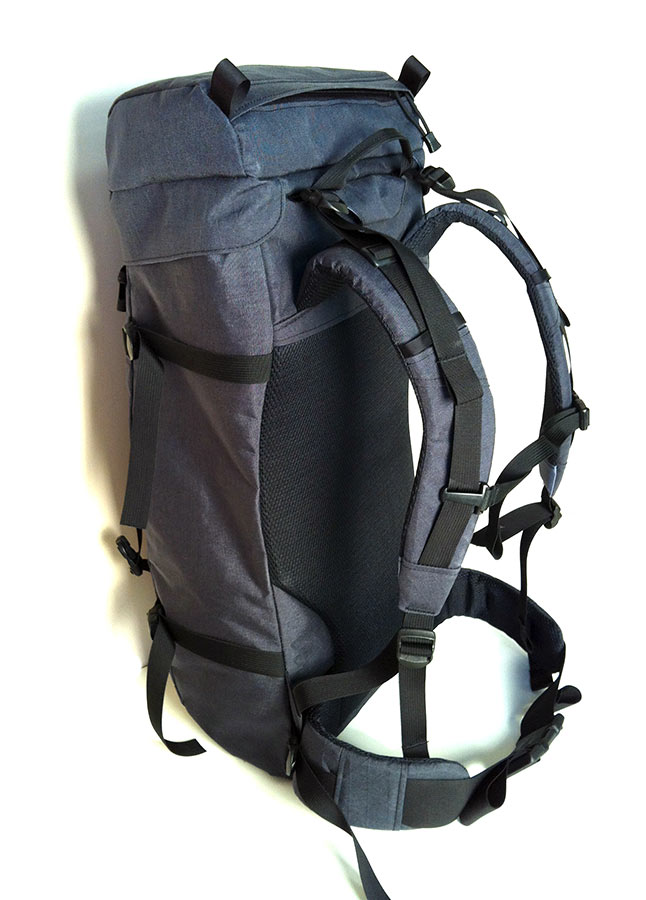 Custom Ski Backpack – Back View