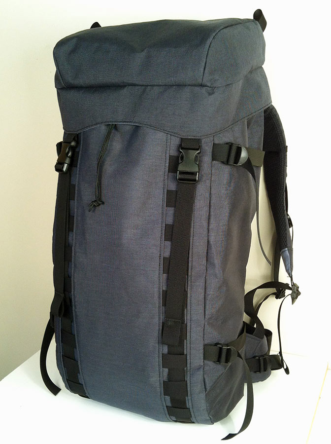 Custom Ski Backpack Prototype