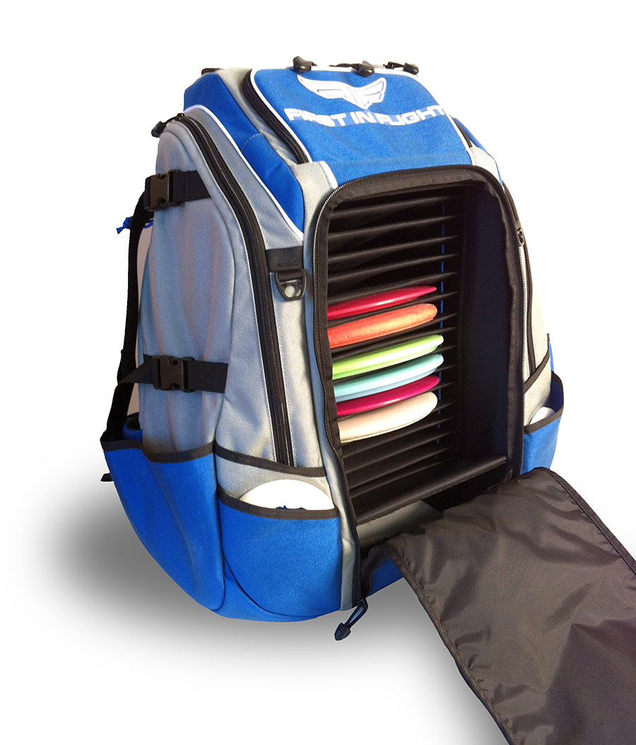 First In Flight Disk Golf Backpack Custom Prototype