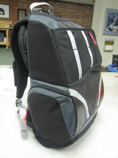 Koraloc Surfboard Pack Prototype Side View