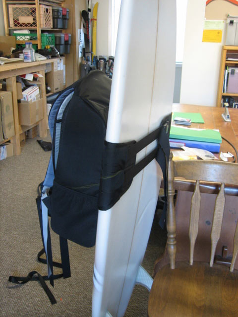 Koraloc Surfboard Pack Custom Prototype