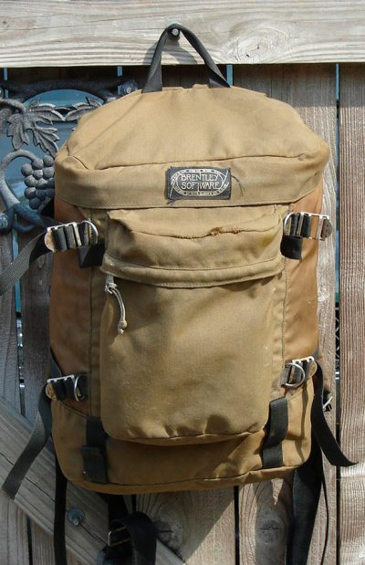 Geology Field Backpack Circa 1980
