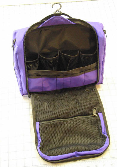Travel Toiletries Case – Open