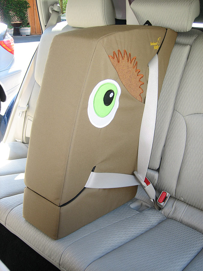 Wallyhoo Car Seat Divider Custom Prototype