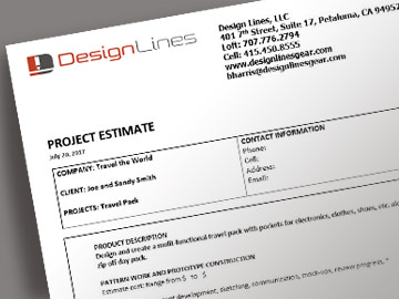 Prototype Design Process Estimate